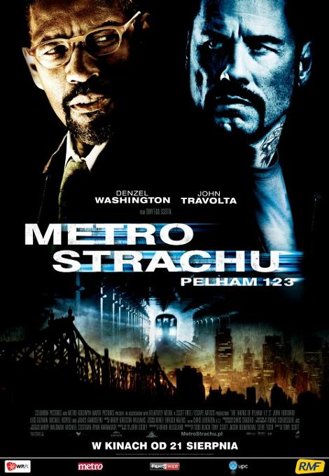 Metro strachu / The Taking Of Pelham 123 (2009) DVDRip Lektor PL