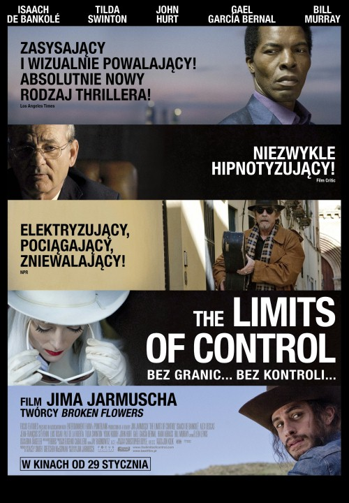 [FS,TB] The Limits of Control (2009) PL.LiMITED.DVDRiP.XViD-PSiG Profesjonalny Lektor PL!