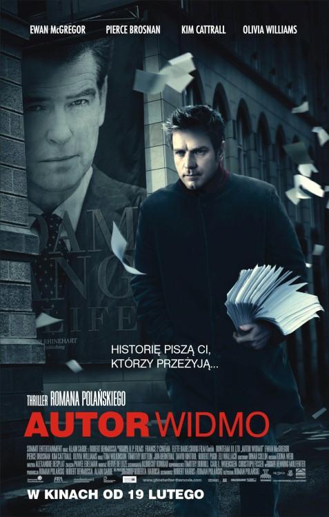 Autor widmo / The Ghost Writer (2010) PL.DVDRip.XviD.AC3-DarQ - Profesjonalny Lektor PL - Z DŹWIĘKIEM AC3 5.1