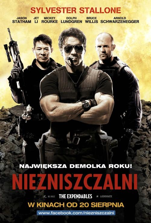 Niezniszczalni / The Expendables (2010) PROPER.DVDRip.XviD-BiDA Lektor Polski !