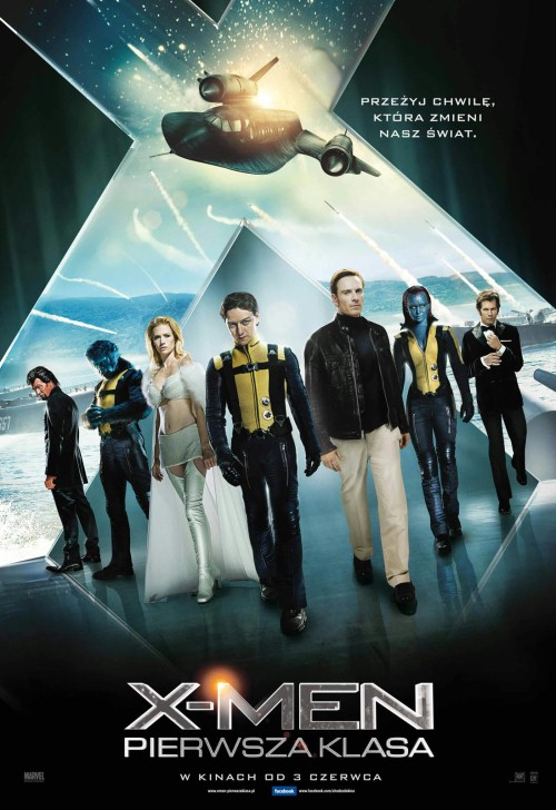 X-Men: Pierwsza klasa / X-Men: First Class (2011) PL.DVDRip.XViD-J25 / Lektor PL +x264 +RMVB