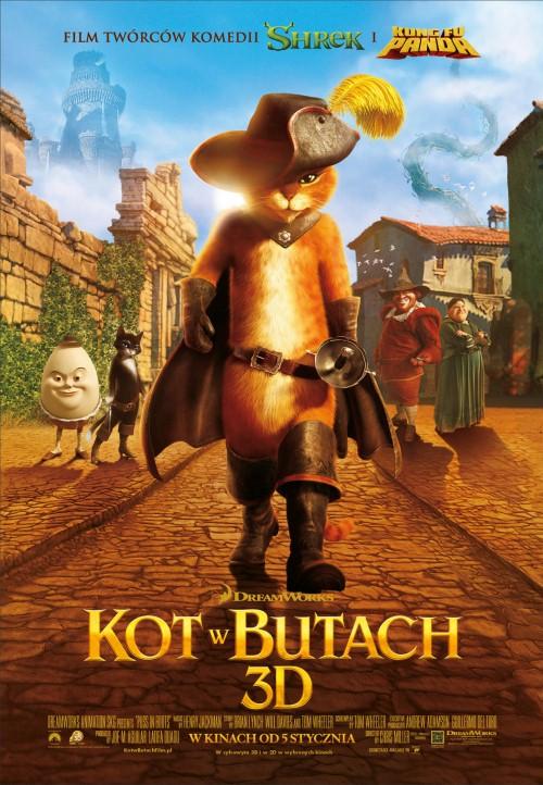 Kot w butach / Puss in Boots (2011) PLDUB.DVDRip.XviD-PBWT *DUBBiNG PL*