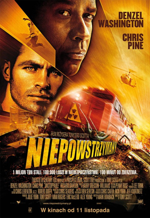 Niepowstrzymany / Unstoppable (2010) SubPL.BRRip.XviD-BiDA Napisy Polskie - osobny plik txt