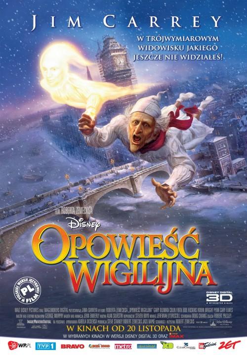 Opowieść wigilijna / A Christmas Carol (2009) MD.READ.NFO.DVDRip.XviD-TVM4iN Dubbing Polski !