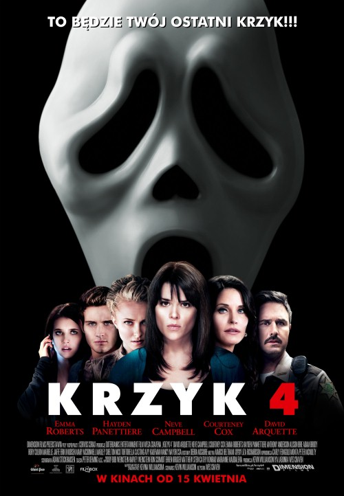 Krzyk 1-4 / Scream 1-4 (1996-2011) PL.BRRip.AC3.XviD-C79TeaM Profesjonalny Lektor PL - Z DŹWIĘKIEM AC3 5.1