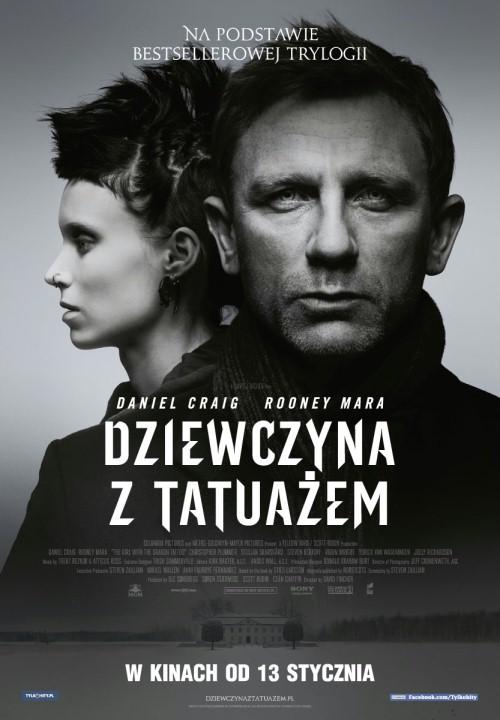 Dziewczyna z tatuażem / The Girl with the Dragon Tattoo (2011) PLSUB.480p.BRRip.XviD.AC3-BiDA - Napisy Polskie - Osobny plik .txt - Z DŹWIĘKIEM AC3 5.