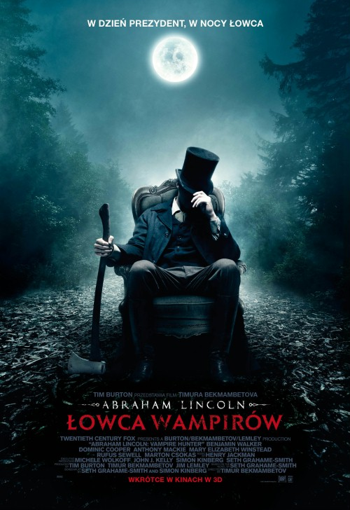Abraham Lincoln: Łowca wampirów / Abraham Lincoln: Vampire Hunter (2012) PL.BRRip.XviD-B89 - Profesjonalny Lektor PL