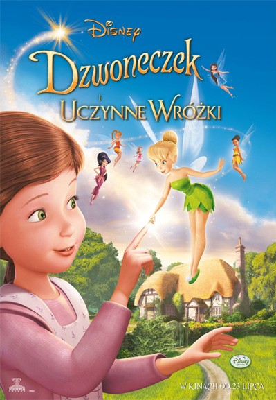[FS] Dzwoneczek i uczynne wróżki / Tinker Bell and the Great Fairy Rescue (2010) MD.BDRip.XviD-PolishBits Lektor Dubbing !