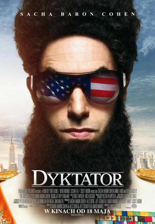 Dyktator / The Dictator (2012) PL.THEATRiCAL.BRRip.XviD-B89 - Profesjonalny Lektor PL