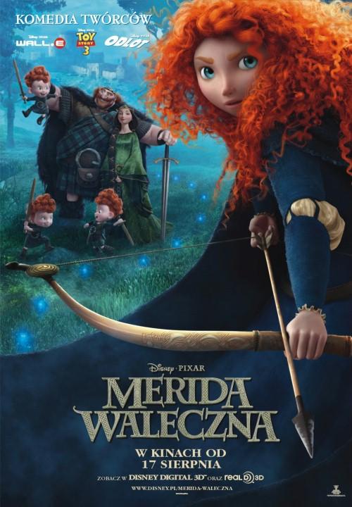 Merida Waleczna / Brave (2012) PLDUB.MD.HDTV.XviD-BiDA - Dubbing PL [KINO]