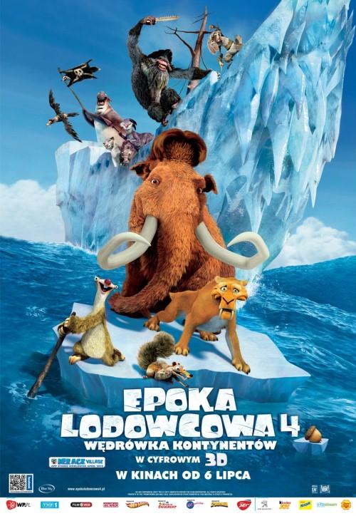 Epoka Lodowcowa 4: W�dr�wka Kontynent�w / Ice Age 4 Continental Drift (2012) PLDUB.BRRip.XviD-B89 - Profesjonalny Dubbing PL