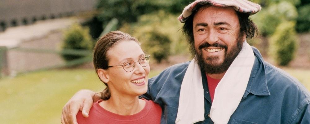 duża fotografia filmu Pavarotti