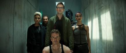 X-Men: Dark Phoenix (2019) - Alexandra Shipp, Nicholas Hoult, Michael Fassbender, Kodi Smit-McPhee, Kota Eberhardt.