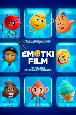 Miniatura plakatu filmu Emotki. Film