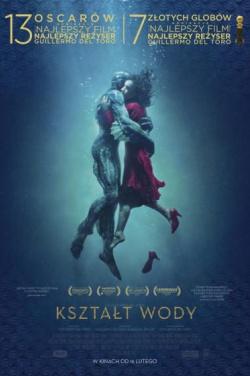 Miniatura plakatu filmu Kształt wody