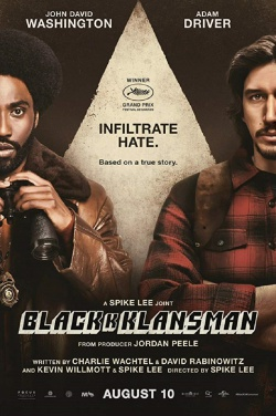 Miniatura plakatu filmu Czarne bractwo. BlacKkKlansman