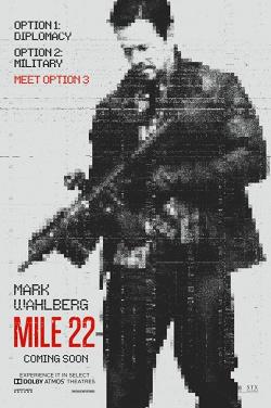Miniatura plakatu filmu Mile 22