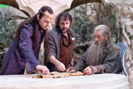 The Hobbit: An Unexpected Journey (2012) - Hugo Weaving, Peter Jackson, Ian McKellen