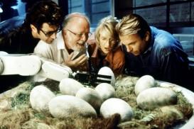 Jurassic Park (1993) - Jeff Goldblum, Richard Attenborough, Laura Dern, Sam Neill