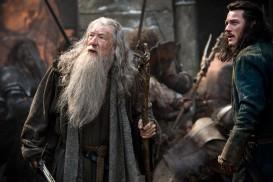 The Hobbit: The Battle of the Five Armies (2014) - Ian McKellen, Luke Evans
