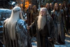 The Hobbit: The Battle of the Five Armies (2014) - Lee Pace, Ian McKellen