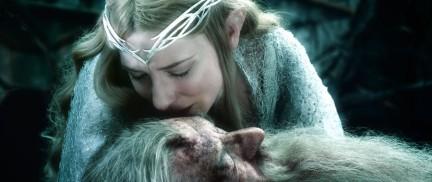 The Hobbit: The Battle of the Five Armies (2014) - Ian McKellen, Cate Blanchett