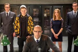 Kingsman: The Secret Service (2014) - Colin Firth, Taron Egerton, Sophie Cookson, Mark Strong