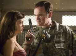 Grindhouse (2007) - Rose McGowan, Quentin Tarantino
