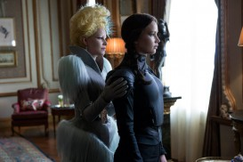 The Hunger Games: Mockingjay Part 2 (2015) - Elizabeth Banks, Jennifer Lawrence