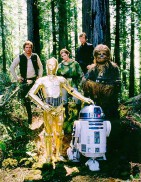 Star Wars: Episode VI - Return of the Jedi (1983) - Carrie Fisher, Harrison Ford, Mark Hamill
