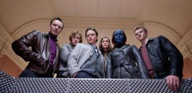 X-Men: First Class (2011) - James McAvoy, Michael Fassbender, Lucas Till, Rose Byrne, Jennifer Lawrence, Caleb Jones