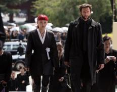 The Wolverine (2013) - Rila Fukushima, Hugh Jackman