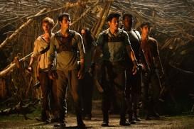 The Maze Runner (2013) - Alexander Flores, Kaya Scodelario, Thomas Brodie-Sangster, Dylan O'Brien, Dexter Darden, Ki Hong Lee