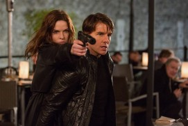 Mission: Impossible - Rogue Nation (2015) - Rebecca Ferguson, Tom Cruise