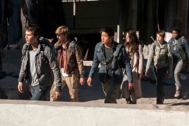 Maze Runner: The Scorch Trials (2015) - Kaya Scodelario, Thomas Brodie-Sangster, Dylan O'Brien, Jacob Lofland, Dexter Darden, Ki Hong Lee