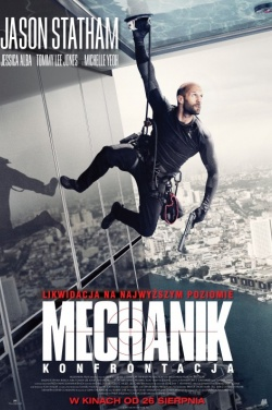 Miniatura plakatu filmu Mechanik: Konfrontacja