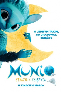 Miniatura plakatu filmu Munio: strażnik księżyca