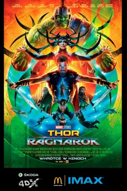 Miniatura plakatu filmu Thor: Ragnarok